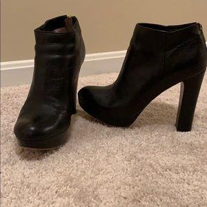 Platform black heeled Michael Michael Kors booties